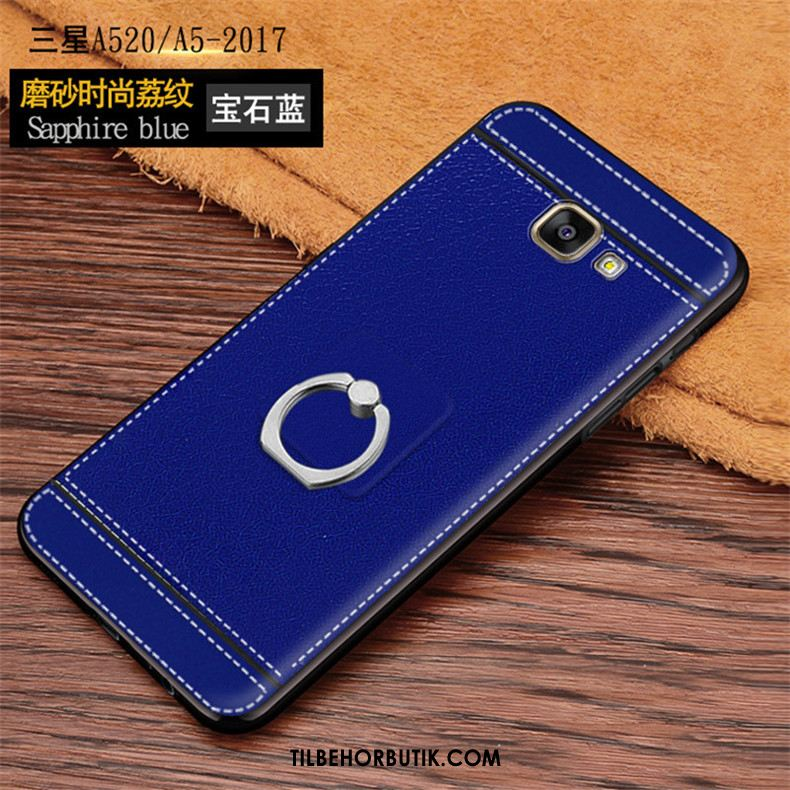 Samsung Galaxy A5 2017 Etui Cool Nubuck Ring Alt Inklusive Cover Køb