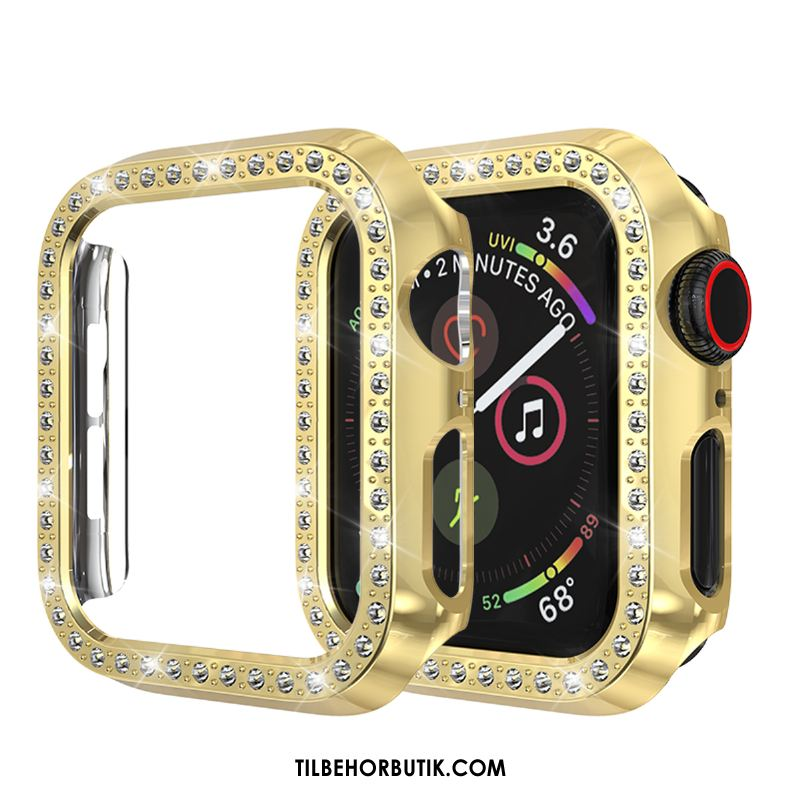 Apple Watch Series 2 Etui Anti-fald Guld Cover Strass Beskyttelse Udsalg