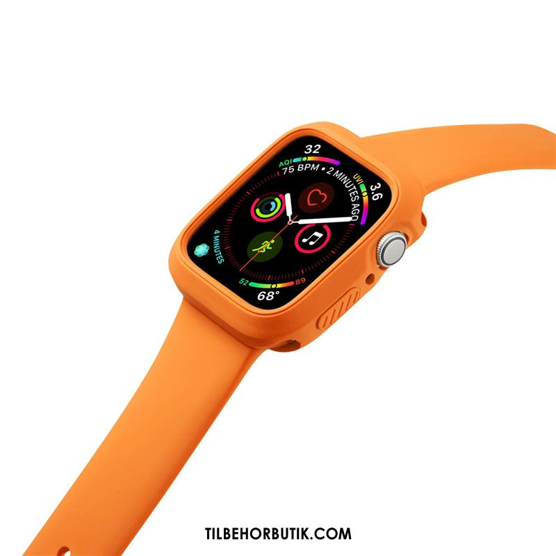 Apple Watch Series 2 Etui Anti-fald Orange Silikone Sport Cover Billige