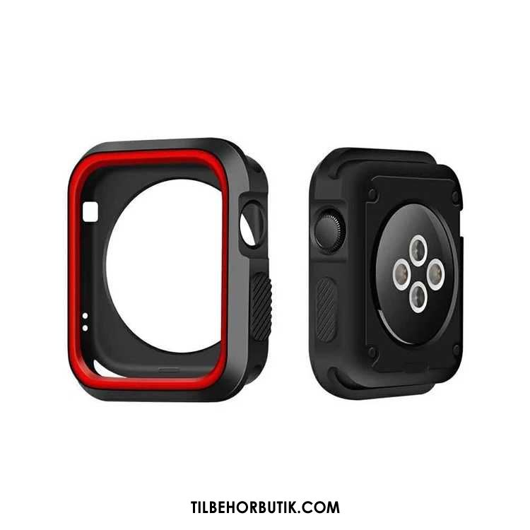 Apple Watch Series 2 Etui Blød Sort Cover Rabat
