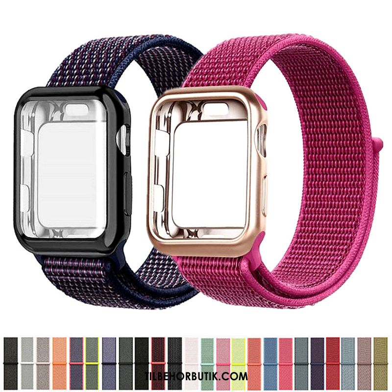 Apple Watch Series 2 Etui Nylon Rød På Udsalg