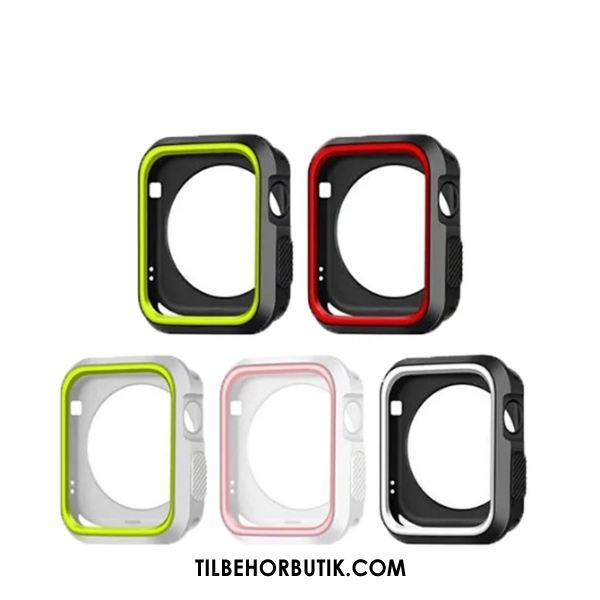 Apple Watch Series 5 Etui Blød Cover Sort Tilbud