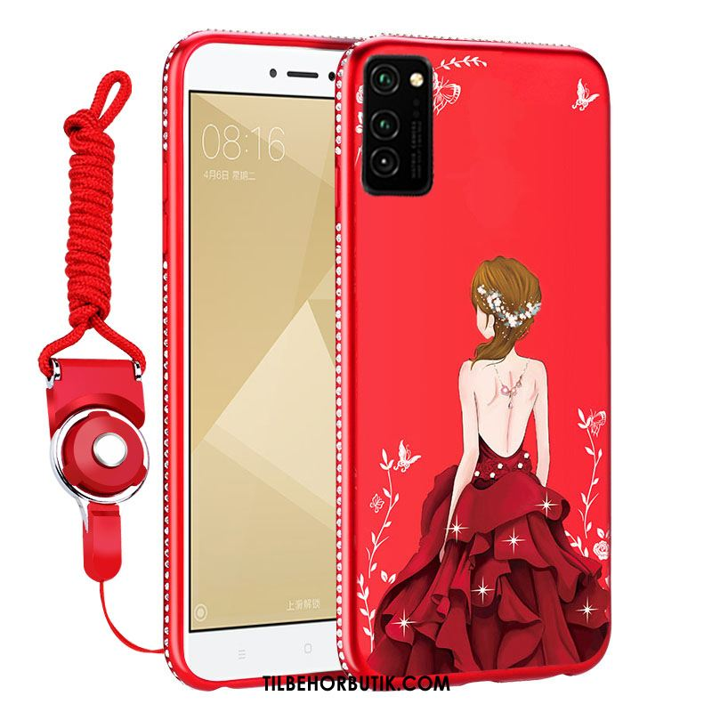 Honor View30 Etui Beskyttelse Trendy Net Red Alt Inklusive Anti-fald Cover Køb