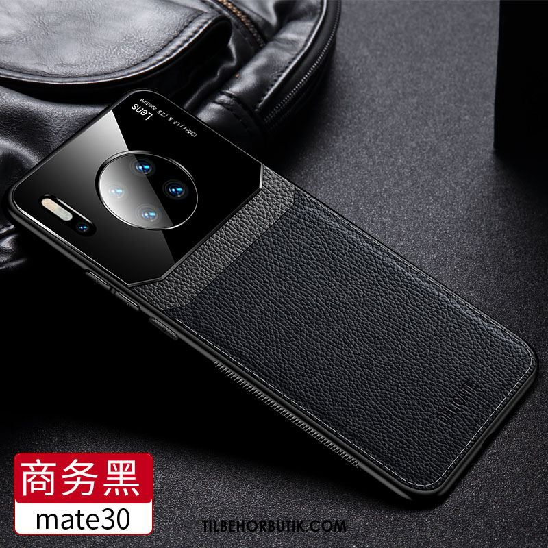 Huawei Mate 30 Etui Beskyttelse Ny Trendy Net Red Læder Cover Online