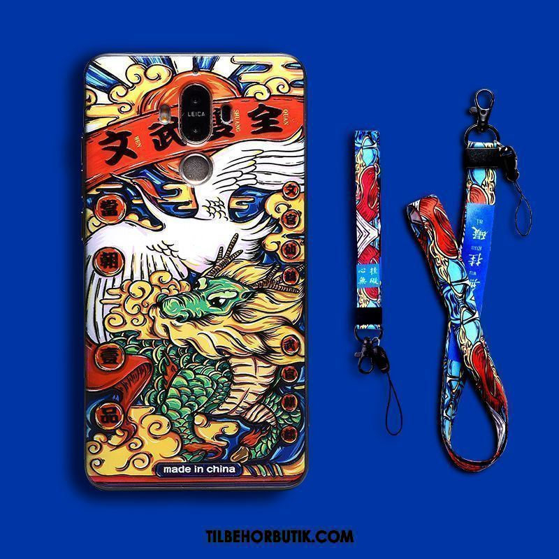 Huawei Mate 9 Etui Relief Cover Kinesisk Stil Trendy Ny Butik
