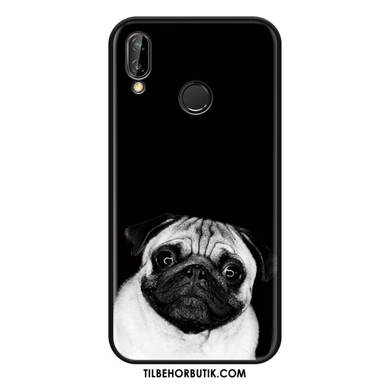 Huawei Nova 3i Etui Hængende Ornamenter Cartoon Alt Inklusive Beskyttelse Cover Rabat