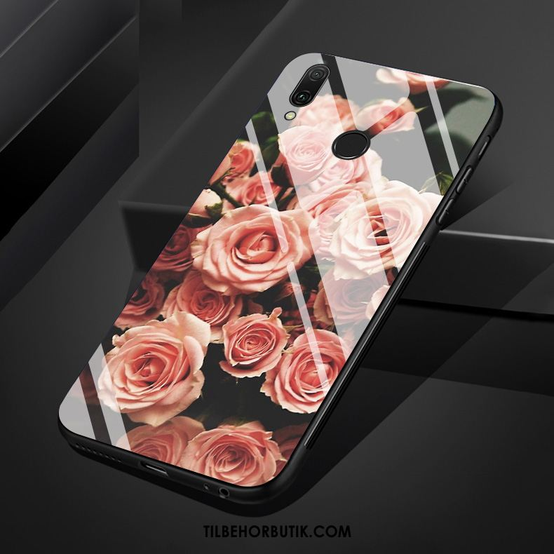 Huawei P Smart Z Etui Kreativ Glas Rose Tryk Cover Online