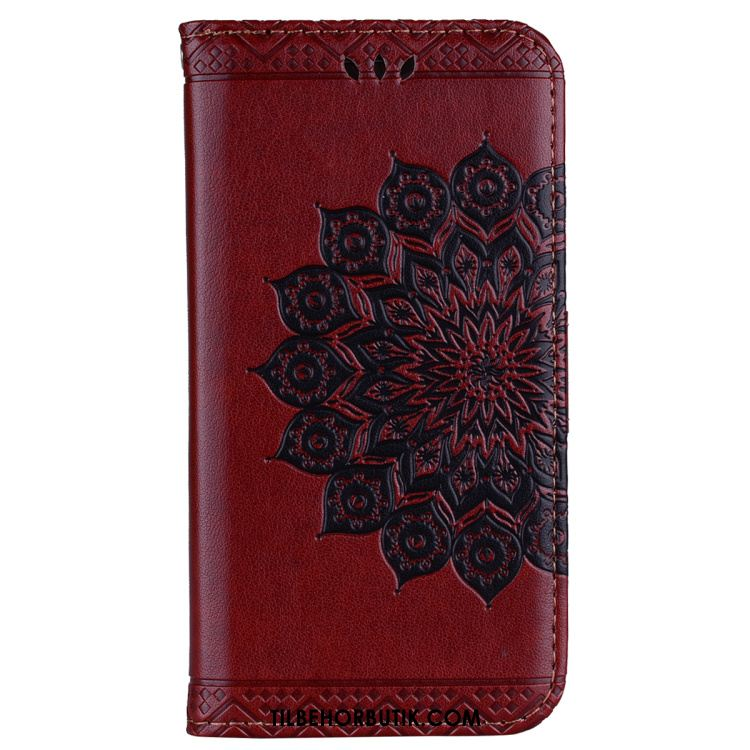 Huawei Y6 2018 Etui Alt Inklusive Cover Blomster Anti-fald Ny Køb