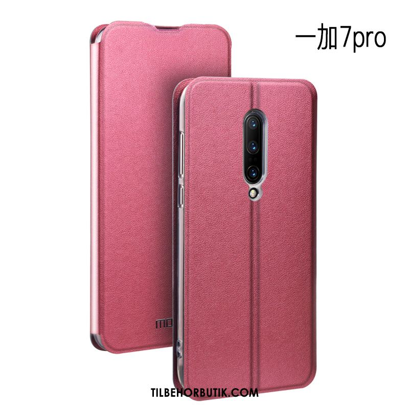 Oneplus 7 Pro Etui Cover Trend Clamshell Blød Silikone Billige