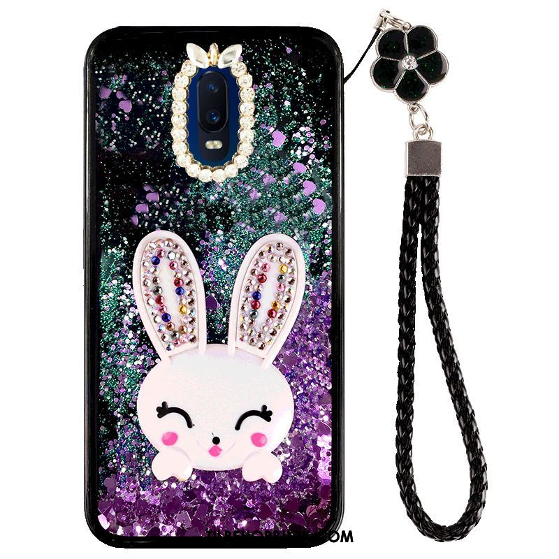 Oppo R17 Etui Alt Inklusive Cartoon Sort Beskyttelse Quicksand Cover Butik