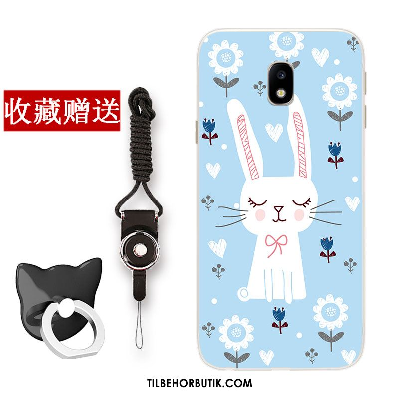 Samsung Galaxy J3 2017 Etui Frisk Beskyttelse Blå Cover Cartoon Butik