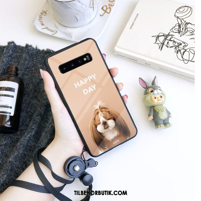Samsung Galaxy S10 Etui Cover Hængende Ornamenter Mode Kreativ Anti-fald Billig