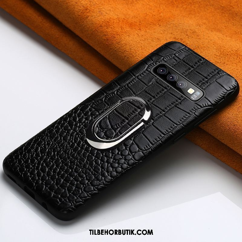 Samsung Galaxy S10 Etui Kvalitet Trendy Support Bil Cover Butik