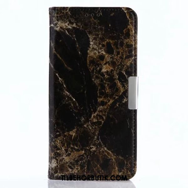 Sony Xperia L1 Etui High End Tegnebog Sort Stor Cover Salg