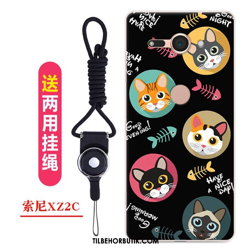 Sony Xperia Xz2 Compact Etui Cartoon Beskyttelse Af Personlighed Smuk Cover Tilbud