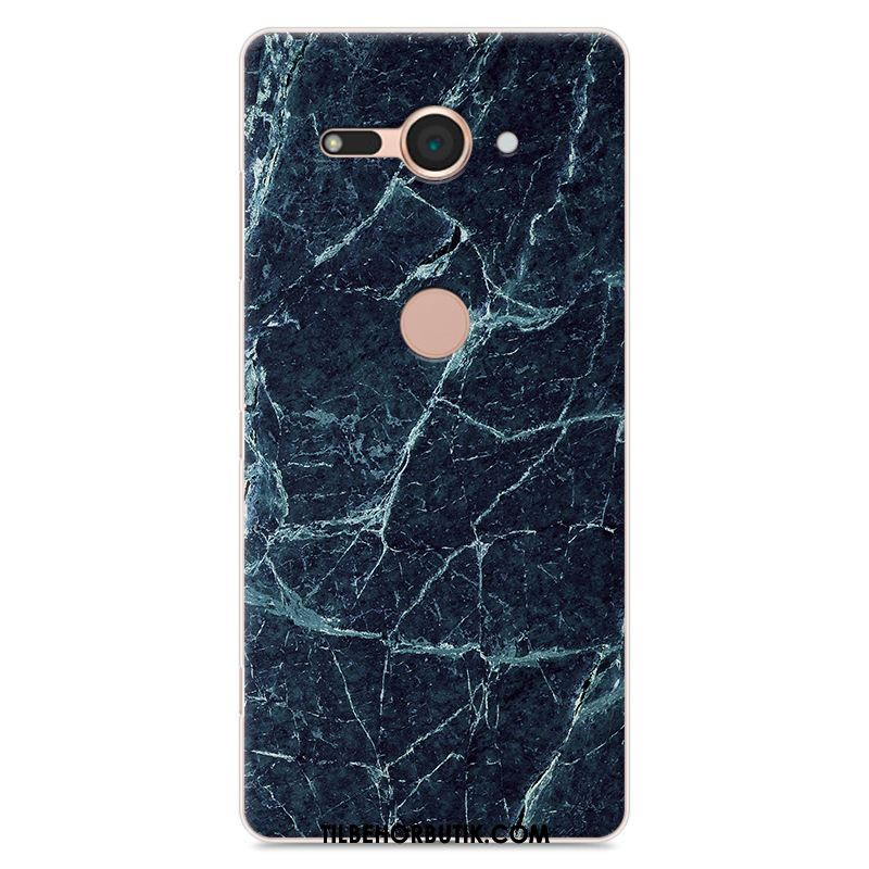 Sony Xperia Xz2 Compact Etui Cover Trend Anti-fald Beskyttelse Trækorn Billige