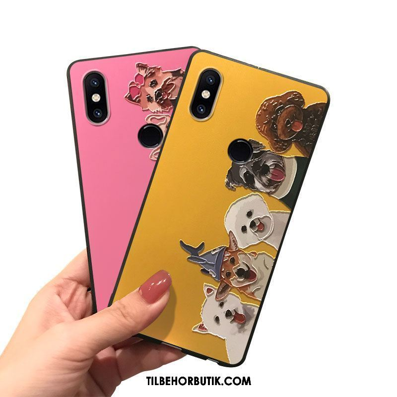 Xiaomi Mi Mix 2s Etui Af Personlighed Cartoon Cover Lille Sektion Alt Inklusive Butik