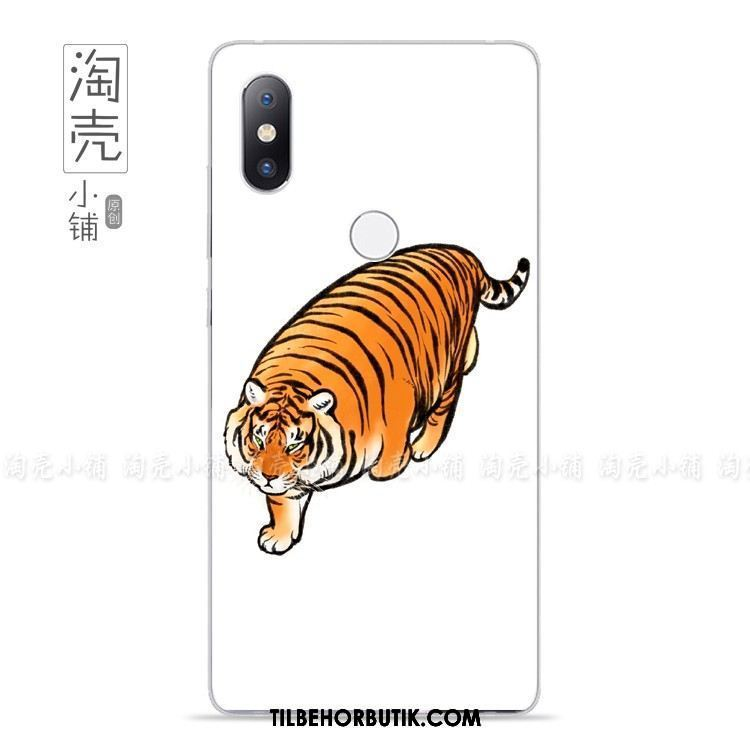 Xiaomi Mi Mix 2s Etui Kreativ Beskyttelse Simple Cover Tiger Billige