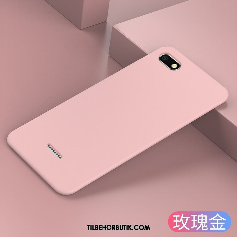 Xiaomi Redmi 6a Etui Tynd Simple Silikone Af Personlighed Ny Cover Billig