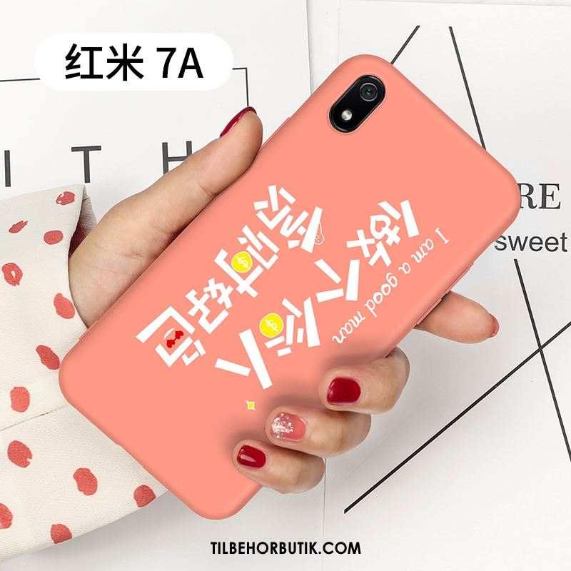 Xiaomi Redmi 7a Etui Tynd Beskyttelse Trendy Silikone Lille Sektion Cover Billige