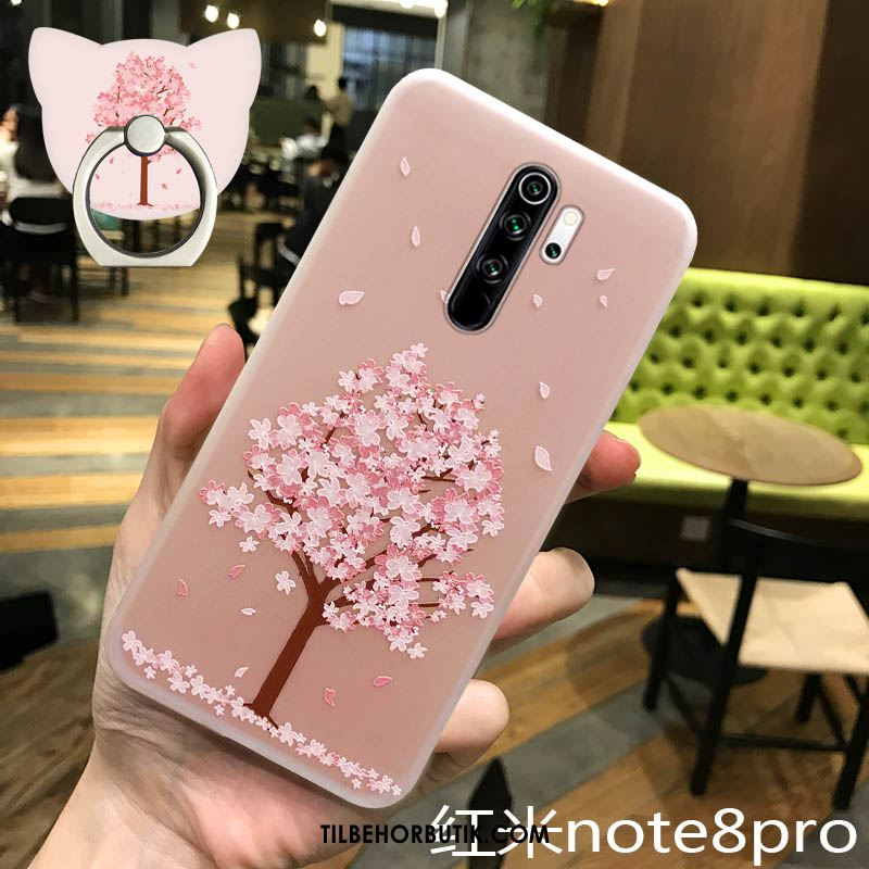 Xiaomi Redmi Note 8 Pro Etui Ny Beskyttelse Tree Trendy Silikone Cover Salg