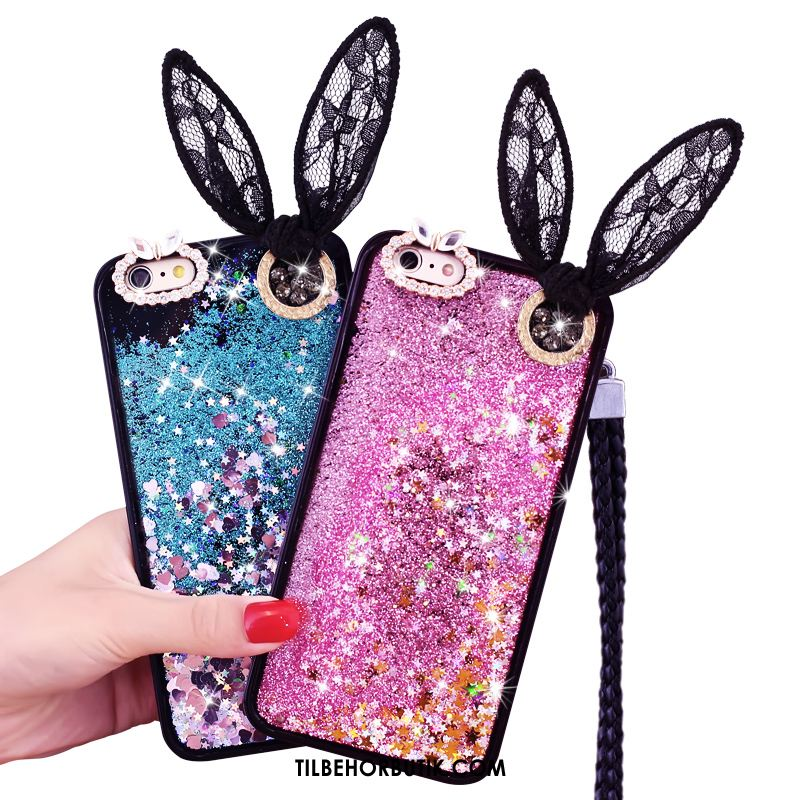 iPhone 6 / 6s Plus Etui Quicksand Hængende Ornamenter Trend Beskyttelse Cover Butik