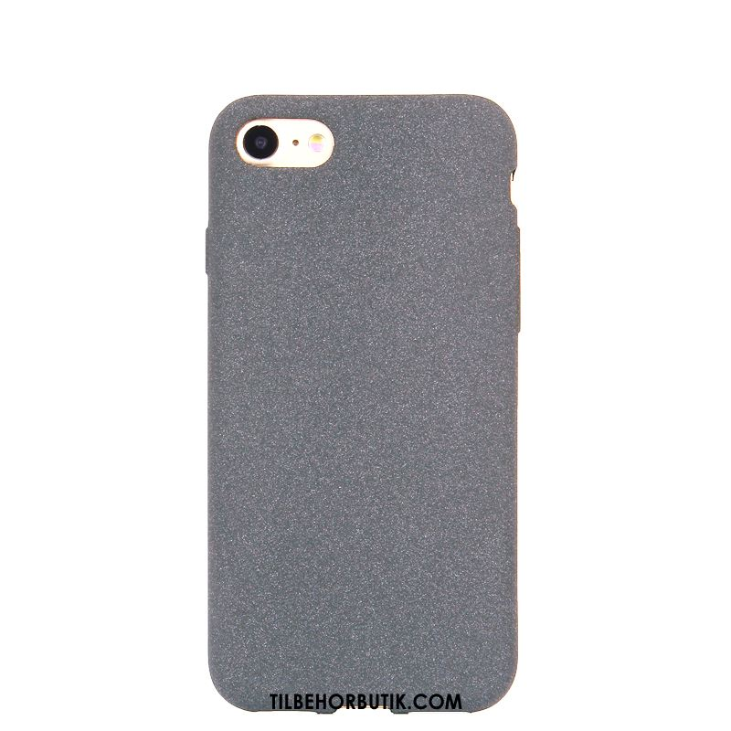 iPhone 7 Etui Nubuck Solid Farve Anti-fald Ny Blød Cover Køb