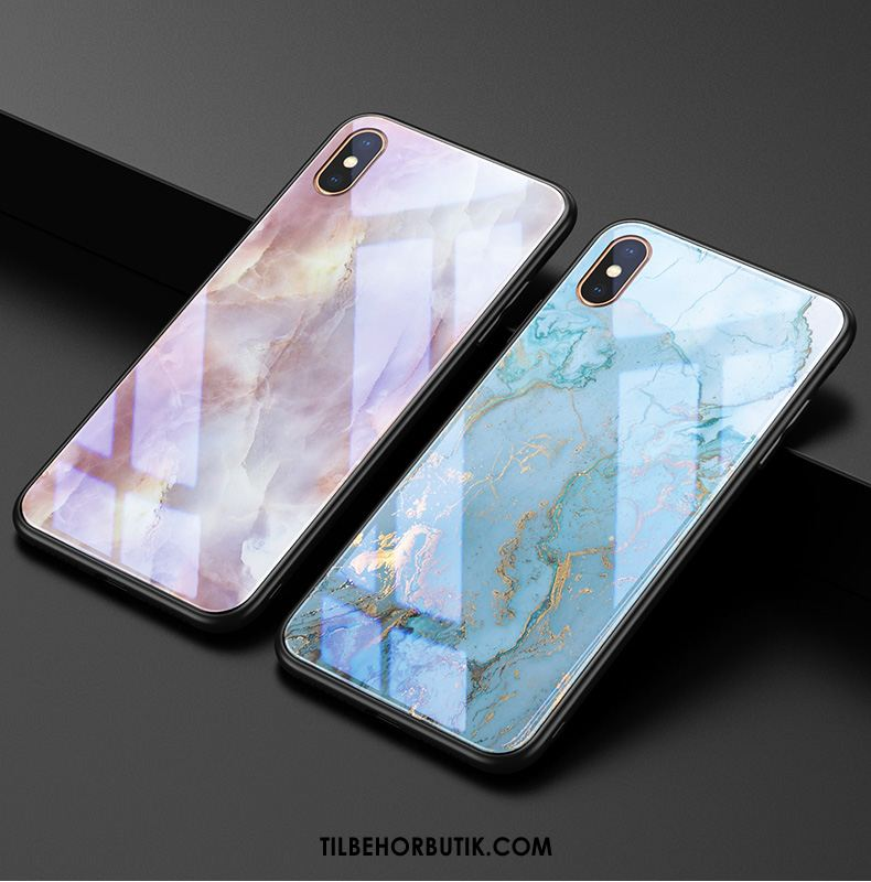 iPhone Xs Max Etui Blå Anti-fald Trendy High End Ny Cover Rabat