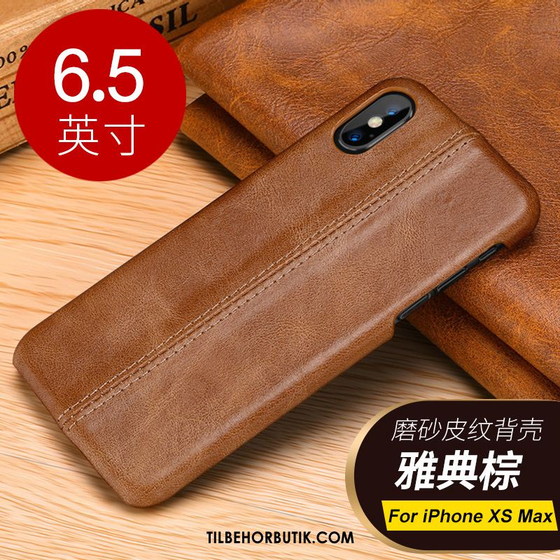 iPhone Xs Max Etui Cover Trend Af Personlighed Beskyttelse Lys Luksus Rabat