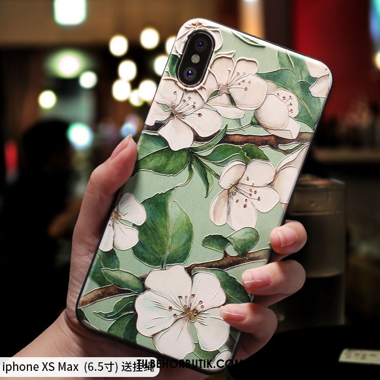 iPhone Xs Max Etui Kreativ Cover Blød Ny Silikone Online
